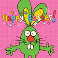 Happy Easter card Stock Images