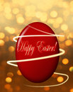 Happy Easter Card Royalty Free Stock Photo