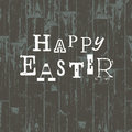 Happy easter card template vector illustration eps Royalty Free Stock Photos