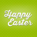 Happy easter d handwriting type on pattern background fancy lettering decorative logo modern fresh sample imaginative supplement Royalty Free Stock Photos