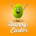 Happy Easter Egg, Merry 3D Set...