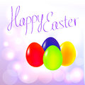 Happy Easter Eggs background Royalty Free Stock Photography