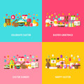 Happy Easter Greeting Set