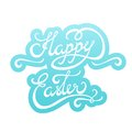 Happy Easter Lettering Sticker