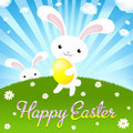 Happy Easter. Vector Stock Photos