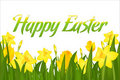 Happy Easter. Vector Royalty Free Stock Photo