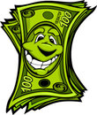 Happy Easy Money Cartoon Illustration Royalty Free Stock Photos