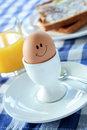 Happy Egg Royalty Free Stock Photo
