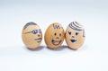 Happy egg family