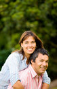 Happy and energetic couple Royalty Free Stock Photos