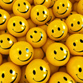 Happy faces Stock Photography