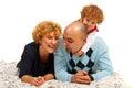 Happy family havinfg fun Royalty Free Stock Photo