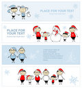 Happy family together, christmas holiday banner Royalty Free Stock Photo