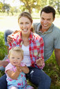 Happy family together smiling Royalty Free Stock Photography