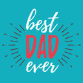 Happy Father`s Day banner and giftcard. Vector Illustration.