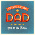 Happy Father's Day Card With R...