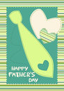 Happy Father's Day Card with Tie