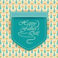 Happy Father`s Day greetings background Royalty Free Stock Photo