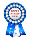Happy father s day ribbon an illustration of a glossy for Stock Photography