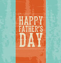 Happy fathers day over blue background vector illustration Stock Photos