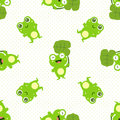 Happy frog seamless