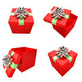 Happy Gift Boxes Royalty Free Stock Image