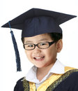 Happy graduation boy Stock Photo