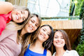 Happy group of women Royalty Free Stock Images