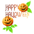 Happy halloween background design Royalty Free Stock Images