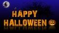 Happy Halloween Background Royalty Free Stock Photo