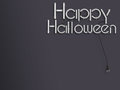 Happy halloween glowing neon text 3d illustration