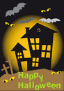 Happy Halloween House Royalty Free Stock Images