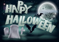 Happy Halloween Illustration Royalty Free Stock Image