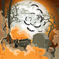 Happy Halloween Night of 31 October Stock Photography