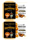 Spooky Seeds for Halloween - Trick-or-Treaters Royalty Free Stock Photo
