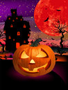 Happy Halloween Pumpkin, Jack O Lantern. EPS 8 Royalty Free Stock Photography