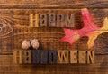 Happy Halloween Sign Royalty Free Stock Photo