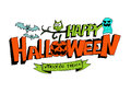 Happy halloween theme and halloween background images of Stock Photos