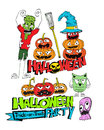 Happy halloween theme and halloween background images of Royalty Free Stock Photo