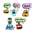 Happy halloween theme and halloween background images of Royalty Free Stock Images