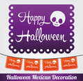 Happy halloween vector mexican decoration eps available Royalty Free Stock Images