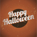 Happy halloween vintage Stock Images