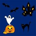 Happy hallowen design Royalty Free Stock Images