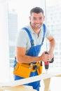 Happy Handyman Drilling Plank ...