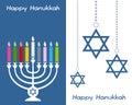 Happy Hanukkah Greeting Cards
