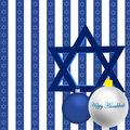 Happy Hanukkah Illustration Stock Images