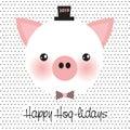 Happy Hog-lidays!