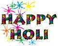 Happy holi Royalty Free Stock Photography