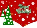 Title: Happy Holidays Card
