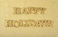 Happy Holidays Golden Text